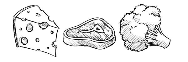 Nutritie LCHF - Ghid vizual