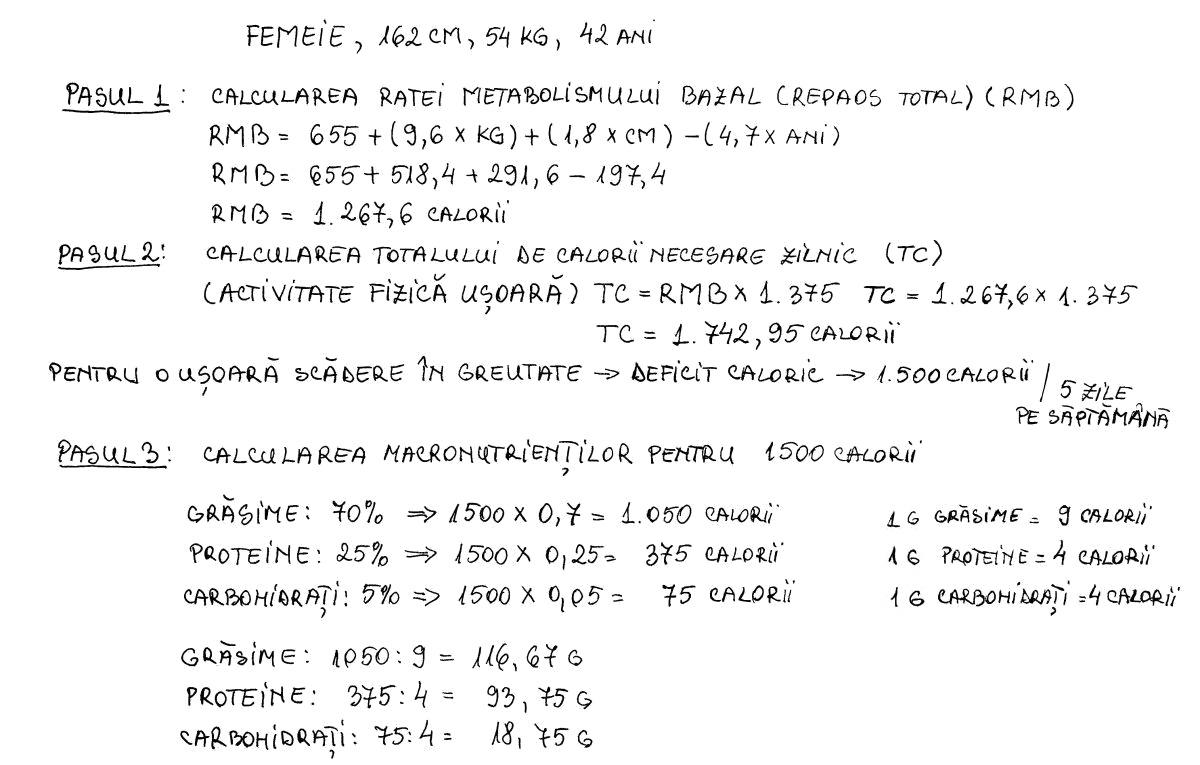 calcul macronutrienți în dieta ketogenică