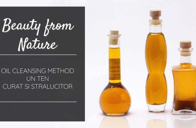 Oil cleansing method ten curat stralucitor