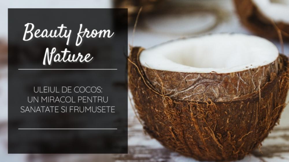 Ulei cocos sanatate frumusete