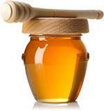 borcan miere de albine