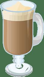 cafea keto pahar