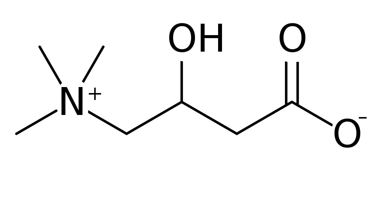 cafrnitină - formulă chimică