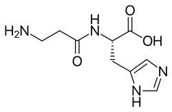 carnozină frormula chimică