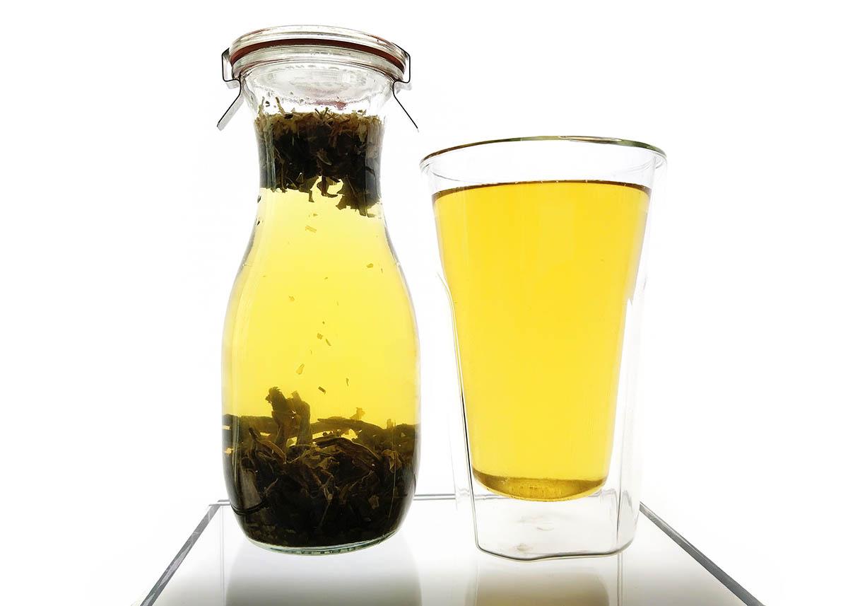 ceai verde preparat la rece
