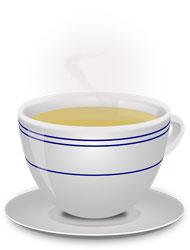 ceașcă ceai verde