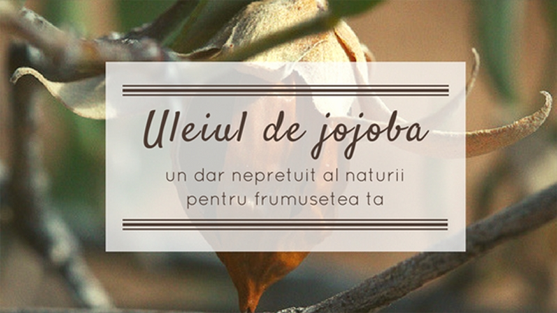 Uleiul de jojoba frumusete pentru ten, par, corp