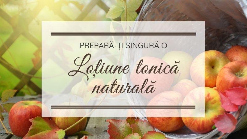Lotiune tonica naturala