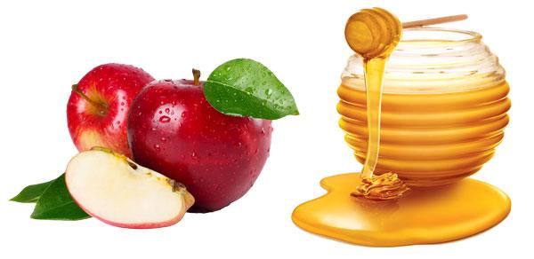 mască cu măr și miere pentru ten