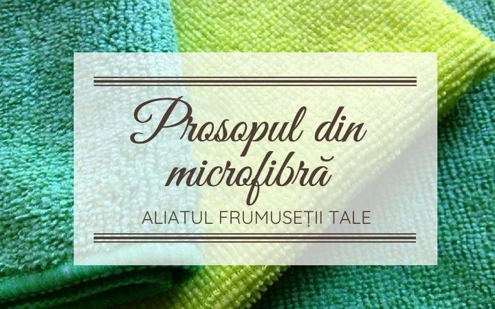 curățare ten microfibră