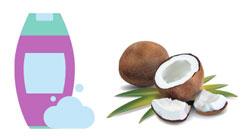sticla șampon nucă de cocos