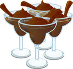 spumă de ciocolată