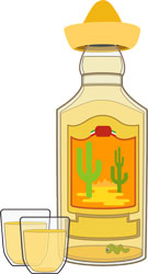 sticlă tequila