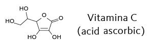 vitamina C acid ascorbic formula chimica